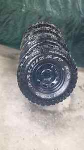 Tyres 4x4 31 inch mud black sunnies Maryborough Central Goldfields Preview