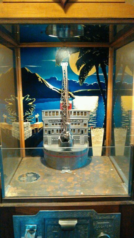 Genuine Novelty Merchantman 5c Crane Game works great Last from Asbury park BG