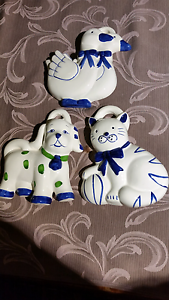 Ceramic wall plaques. $5.00 each Wallsend Newcastle Area Preview