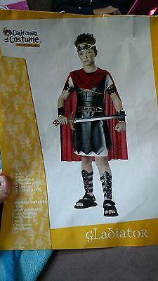 Gladiator Child Halloween Costume Size 10-12 Large](Kids Gladiator Costume)