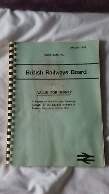 British Rail Carriage Cleaning