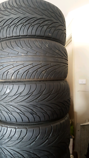 Federal tyres 265/35/18 and 245/40/18