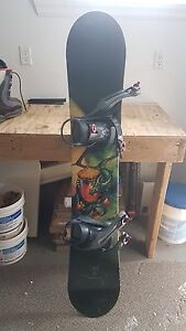 5150 snowboard with binding