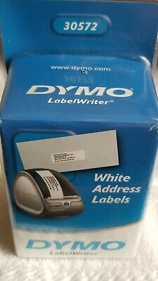 Dymo Labelwriter White Address Labels 1-18 X 3 12 - 2-260 Count Rolls 30572
