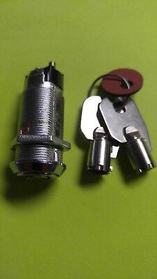 New Tubular 1 18 Electronic Key Switch Lock Offon Lock Switch High Security