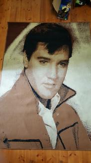 Elvis Presley Floor Rug