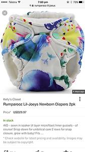 WANTED - Rumparooz Lil Joey modern cloth nappies Devonport Devonport Area Preview