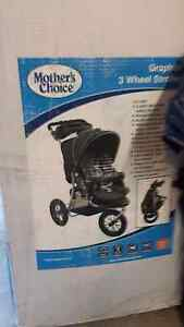 Graphite 3 wheel baby stroller Wantirna South Knox Area Preview