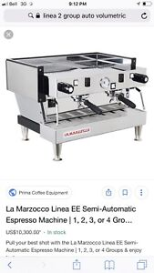 Lease takeover coffee equipment