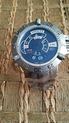 Invicta sub-aqua no hands model number 6697 stainless steel