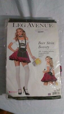 Leg Avenue Beer Stein Beauty Woman's Costume Size Medium - Dress - Beer Stein Costume