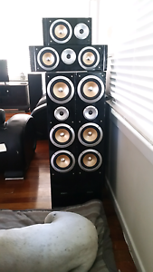 Surrond Sound Speakers for sale... x5 Chermside Brisbane North East Preview