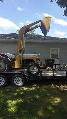 1952 Ford 8n Tractor Loader Starts Runs