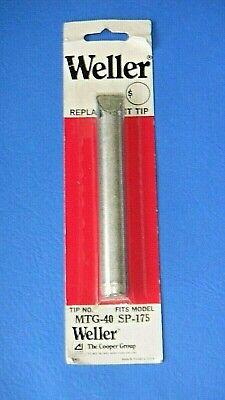 Weller Mtg-40 Soldering Iron Tip Fits Sp-175 Usa Nos