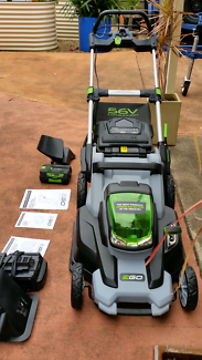 Ego 56v Cordless mower with extras
