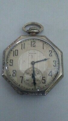 Antique Elgin Pocket Watch 15jewel Works Great!