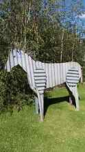 Horse sculpture. Corrugated iron Maffra Wellington Area Preview