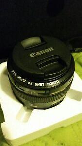 Canon ef-55mm f/1.4
