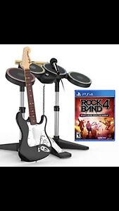 WANTED: ROCK BAND 4 FOR PS4