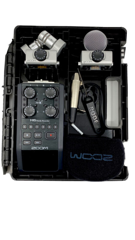 Zoom H6 6-Track Portable Digital Recorder