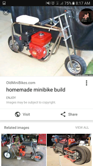 Wanted: WANTED minibikes
