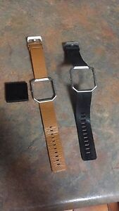 Fitbit blaze with additional leather band Ruse Campbelltown Area Preview
