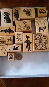 Rubber stamps for craft set 1 Mitcham Whitehorse Area Preview