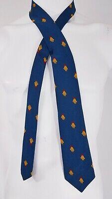 1960s – 70s Men's Ties | Skinny Ties, Slim Ties Vintage Roman Military Helmet 1960s Neck Tie Polyester Skinny 60s $4.50 AT vintagedancer.com