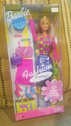 Barbie Fashion Frenzy Barbie Doll C2518 - 2002 NEW IN BOX - $12.00
