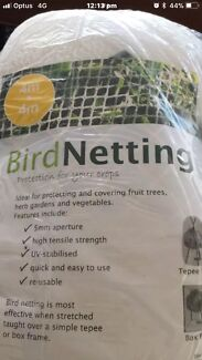 ANTI BIRD NET TOMATOES FRUIT TREE PLANTS VEGETABLE GARD NETTINGEN