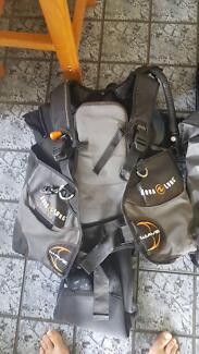 Scuba gear, complete set