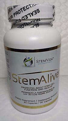 Stem Alive Celulas Madre 90 Capsules  Unisex Dietary Supplement Exp 09 2019 New