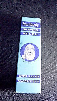 Vintage Ever-Ready Shaving Brush In Original Box! (100)