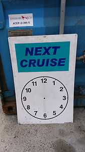 Next cruise sign Glenorchy Glenorchy Area Preview