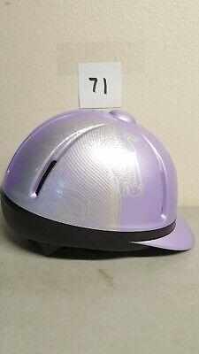 Troxel Spirit Helmet GPS Dial-Fit Flip-Fold Equestrian Horse Riding Size S  Troxel Equestrian Spirit Helmet