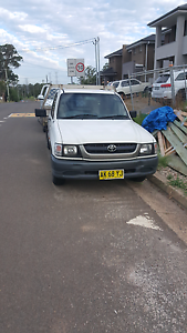 2002 Toyota Hilux Colyton Penrith Area Preview