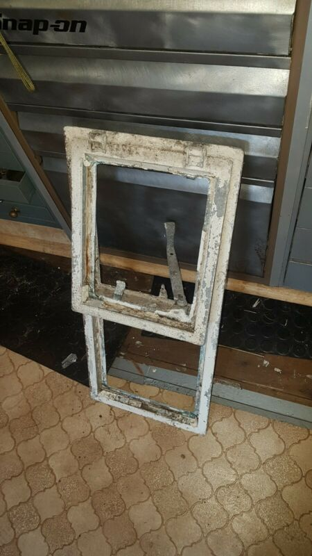 Vintage Steel Window Frame