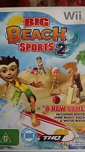 Wii Game Big Beach Sports 2 - Soccer + Dune Buggy racing Sunnybank Hills Brisbane South West Preview