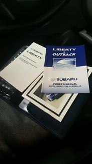 2001 Subaru liberty white colour