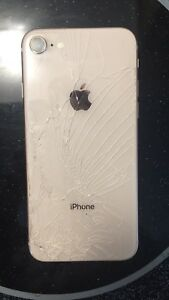iPhone 8 -selling low due to cracked screens