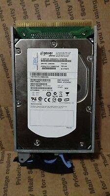 SEAGATE ST373455LC 73GB 15K.5 RPM ULTRA320  SCSI HARD DRIVE 3.5 Inch 03N6345 15k Rpm Ultra320 Hard Drive