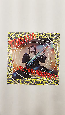 Thin Lizzy 1978 Live and Dangerous Original Warner Bros. Promo Sticker Original