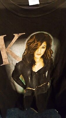 Vintage Kelly Clarkson Independent Tour 2004 T-Shirt XL First Major Tour