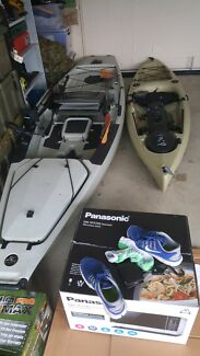Hobie 2013 pro angler 14 and ocean kayak tetra 10 Townsville 4810 Townsville City Preview