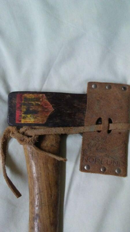 Genuine all original norlund hudson Axe hatchet
