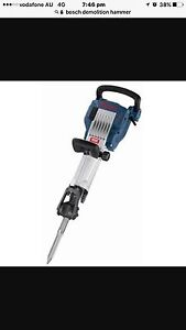 Bosch demolition hammer Panania Bankstown Area Preview