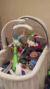 Bassinet, bouncer, baby mats and car seat Darch Wanneroo Area Preview