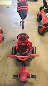 Push trike - converts tricycle