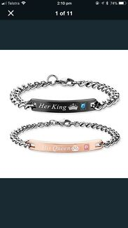 Her beast his beauty bracelets $40 both