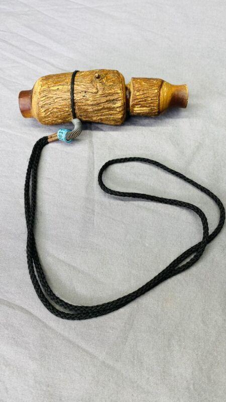 Vintage Handmade Wooden Duck Call